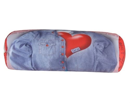 Eddy Toys oreiller coeur 41 x 14 cm