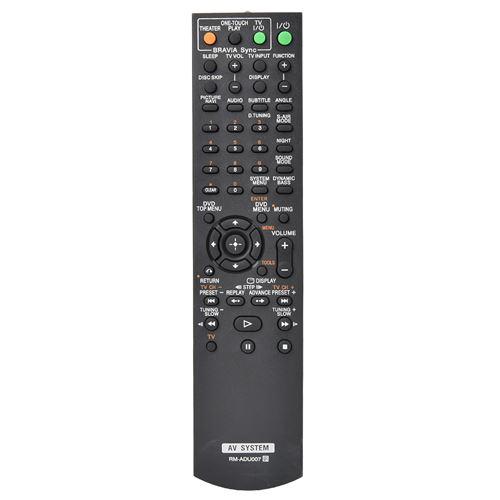 Télécommande sans Fil RM-ADU007 pour Système Audio AV Sony
