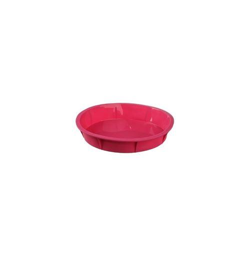 Moule à manqué - 4,7 x 26 cm - Silicone - Rose