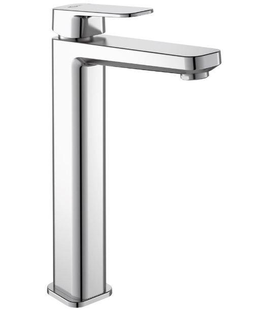 Ideal Standard - Mitigeur lavabo réhaussé chromé Tonic II sans tirette ni vidage 160mm