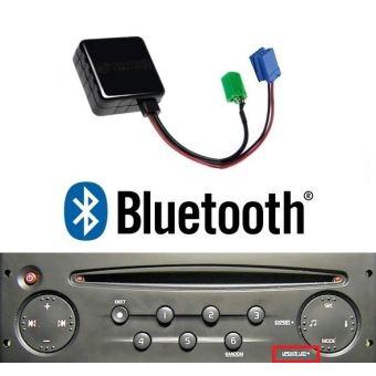 cable bluetooth auxiliaire renault megane 2 scenic 2 clio master laguna modus accessoire audio. Black Bedroom Furniture Sets. Home Design Ideas