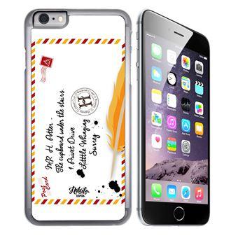 Coque pour iPhone 6 Plus et iPhone 6S Plus harry potter lettre poudlard