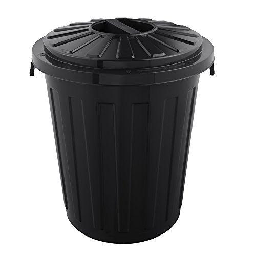 Okt 2053696 poubelle plastique graphite 23 l taille maxi 10213826000