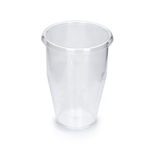 Klarstein Kraftpaket Pro Shaker 1 litre - Accessoire pour mixeur à boissons - PVC transparent