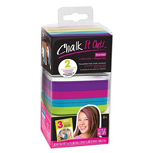 Style Me Up - Craies pour les cheveux pour les filles - Différentes couleurs et formes - SMU-1618