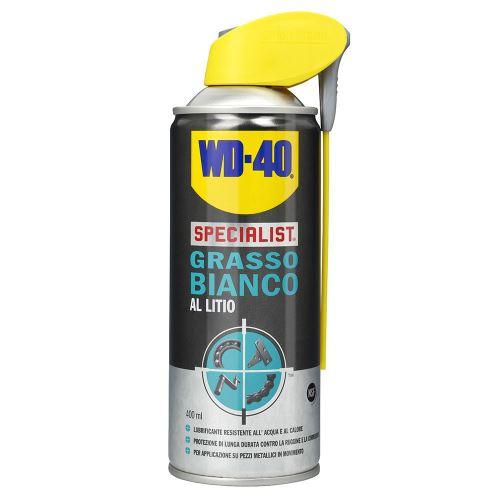 Graisse blanche spray WD40 lubrifiant longue durée résistante à l'eau 400 ml