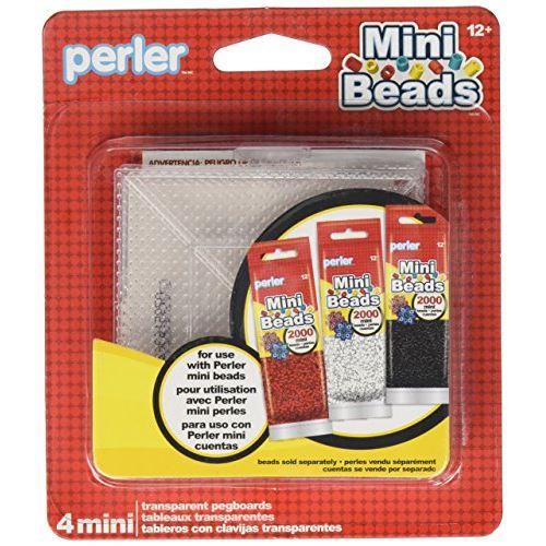 Panneau perforé à petites perles 80-26055 Perler Beads (paquet de 4)