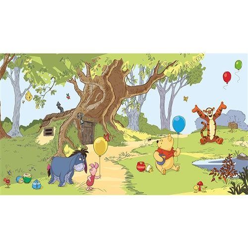 Papier peint Panoramique Surestrip (pose sans colle ) Winnie l'Ourson & Amis Disney 320X182 CM