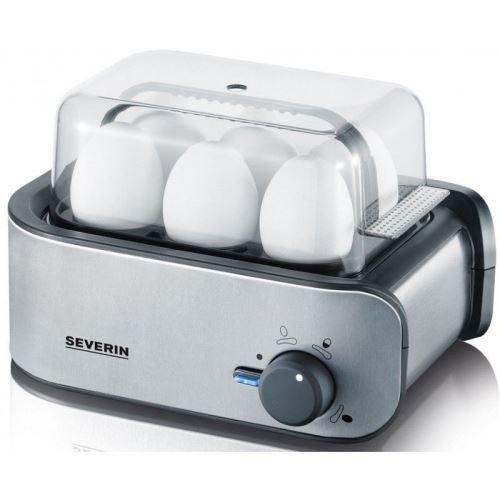 SEVERIN EK 3134 - Cuiseur à œufs - 400 Watt - noir/inox brossé