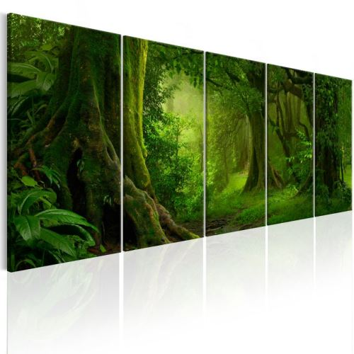 Tableau - Tropical Jungle .Taille : 200x80