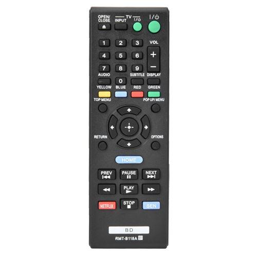 Télécommande RMT-B118A pour Lecteur Blu-ray Sony BDP185C BDPBX18 BDPBX3100 BDPS185