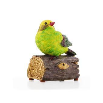 Oiseau décoratif avec son et détecteur de mouvement - Décoration on