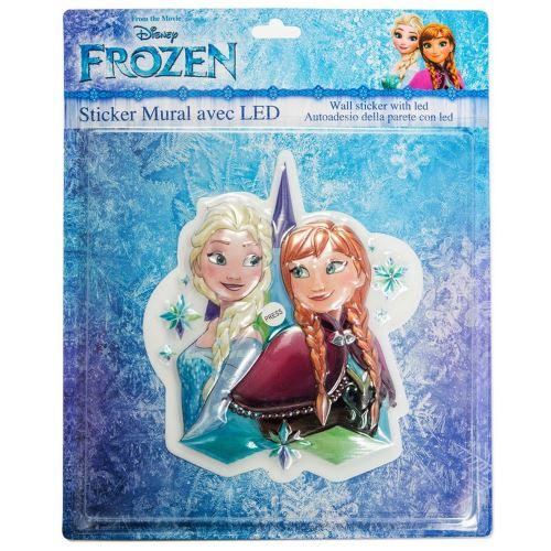 Lampe Veilleuse La Reine des Neiges LED Disney enfant Stickers