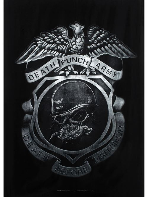 Drapeau Five Finger Death Punch Enforcer 77 x 105 cm
