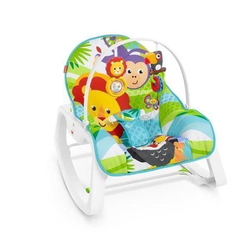 CJV02 Fisher-Price Rainforest Amis Prenez-Along Swing /& Seat Mattel