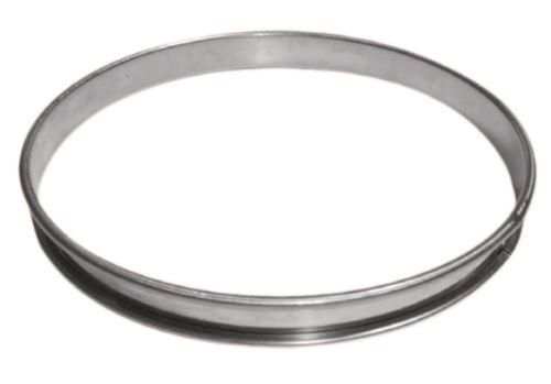 Cercle a tarte inox hauteur 2,1 cm diam 12 cm