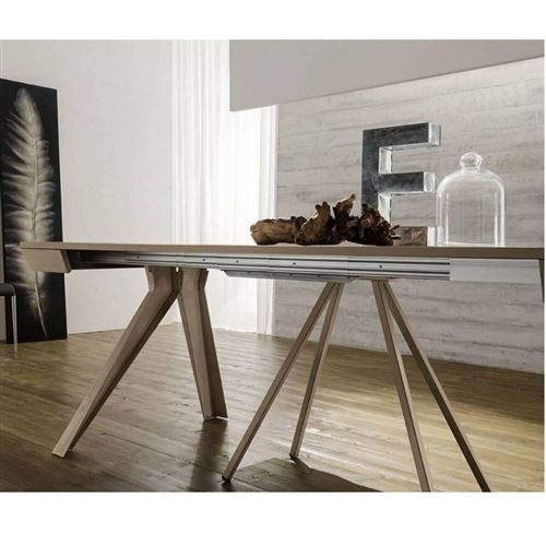Table console Extensible JACK taupe