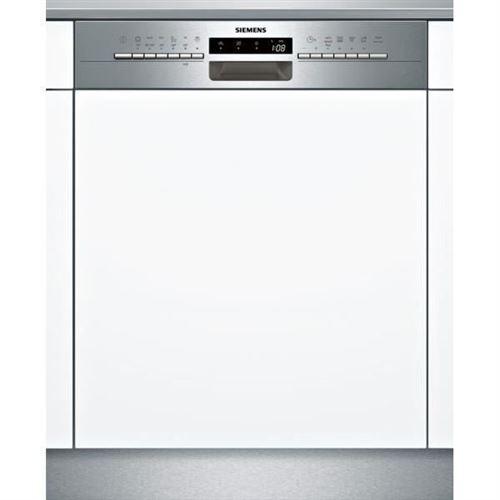 Siemens iQ300 SN536S02GE - Lave-vaisselle - intégrable - Niche - largeur : 60 cm - profondeur : 55 cm - hauteur : 81.5 cm - acier inoxydable