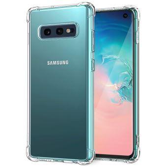 ebestStar - Coque Samsung S10e Galaxy Etui Housse Silicone SLIM Coins rebords renforcés INVISIBLE antichoc, Transparent [Dimensions PRECISES ...