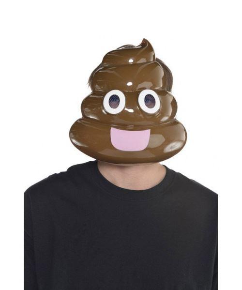 Amscan masque crotte marron taille unique