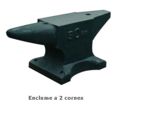 Outifrance – Enclume 2 cornes en fonte acier 5 Kg Longueur 24 cm
