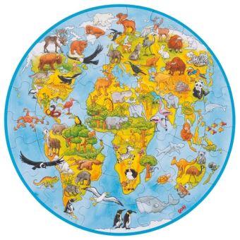 XXL Puzzle Le monde