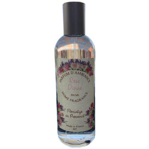 Parfum d'ambiance Florialys en provence - Rose Divine