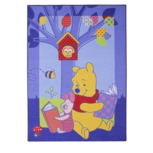 Tapis enfant Winnie l'Ourson 133 x 95 cm Disney Story