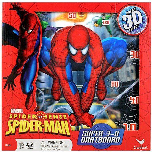 Jeu de fléchettes Spider-Sense Spider-Man Super 3D