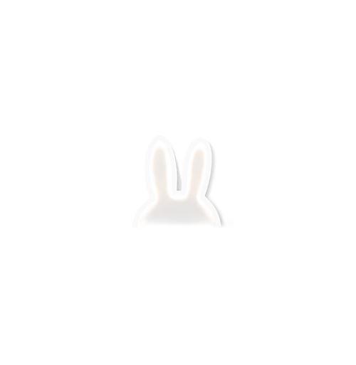 Lampe murale oreille de lapin - 38 x 40 cm - Blanc