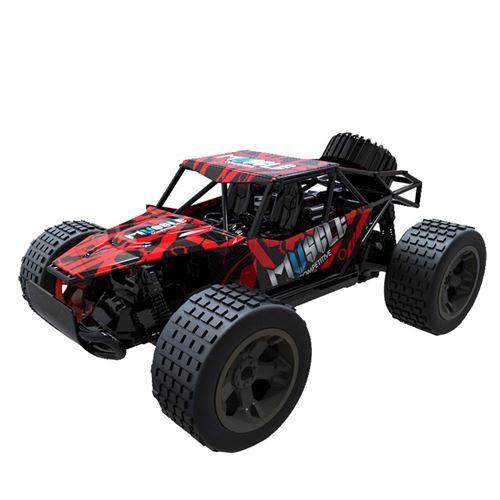 1:20 2WD haute vitesse RC voiture de course 4WD camion télécommandé tout-terrain Buggy jouets - Multicolore