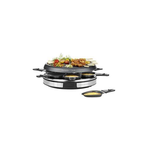 Tefal Re127812 Appareil A Raclette Inox+design 6 Personnes - Inox