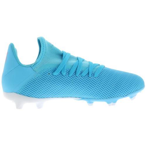 Chaussures football lamelles Adidas X 19.3 f jr Bleu taille : 32 réf : 48293