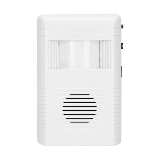 Capteur infrarouge d'induction du corps humain alarme porte entrée bienvenue salutation détecteur de mouvement