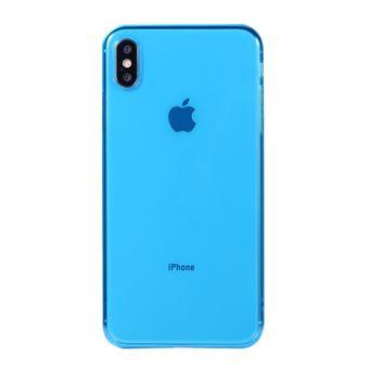 coque iphone xs max bleu turquoise