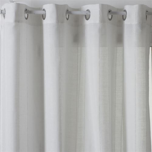 Rideau Voilage Hugo 140x240cm Blanc