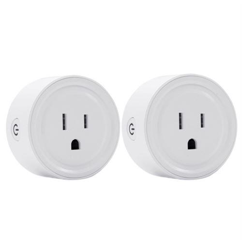Smart WIFI Prise D'Alimentation Us Plug Commutateur pour Amazon Alexa / Accueil Google App Contrôle Blanc Pl346