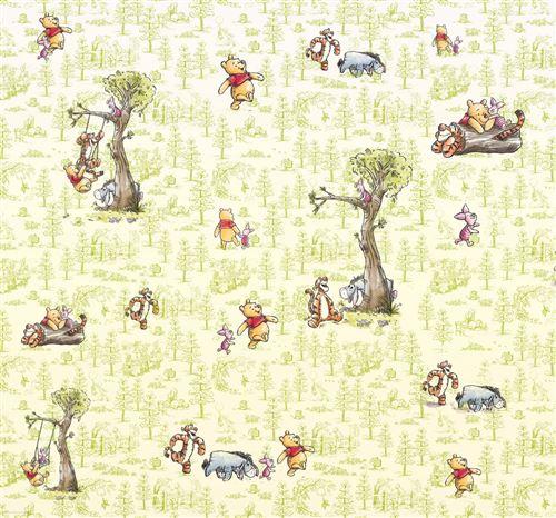 Papier Peint intissé Disney Winnie l'ourson et ses amis 300 cm x 280 cm