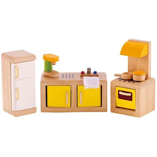 Cuisine pour maison de poupée Hape E3453