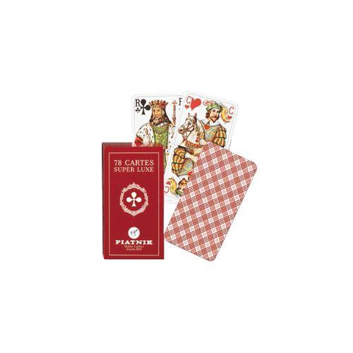 PIATNIK Jeu de tarot 78 cartes TAROT STANDARD Multicolore