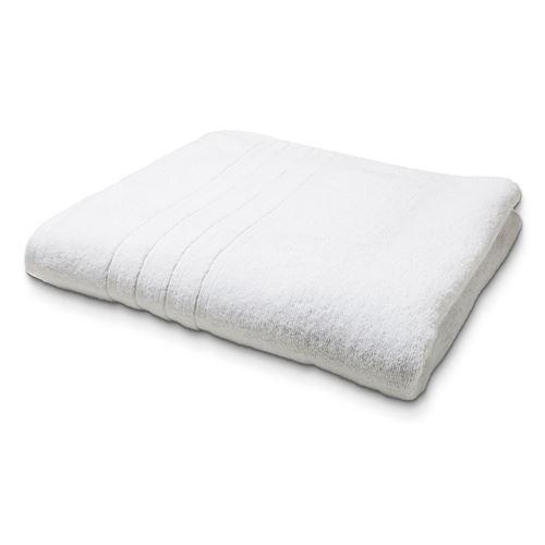 Maxi Drap de Bain en coton - 90 x 150 cm - Blanc