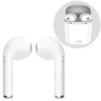 INECK® Mini Écouteurs Bluetooth Sans Fil Stéréo Casque Bluetooth 4.2 Sport Oreillettes, Compris La Boîte Double Charge, pour Iphone X 877S66S