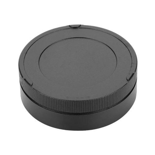 Lens Cap Bouchon d'objectif arrière en métal professionnel pour accessoire de photographie noir LEIC