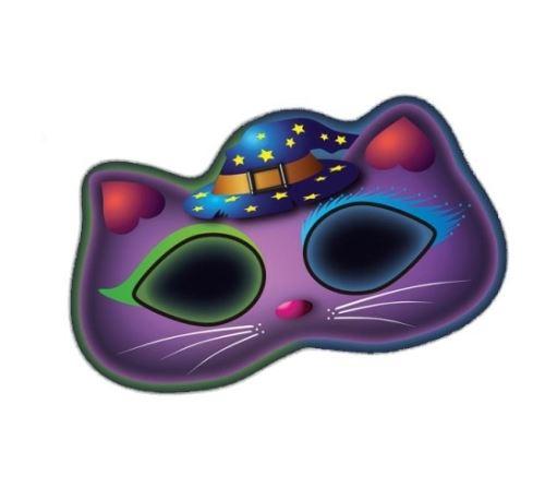 Amscan masque lueur dans le chat noir