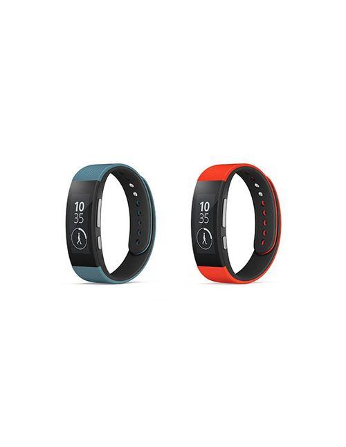 Lot de deux bracelets pour bracelet connectés Sony Retrouvez un lot de deux bracelets compatible avec le Bracelet connecté Sony SWR310 l'un rouge et l'autre bleu. Ils vous permettront de changer la couleur de votre Bracelet connecté Sony SWR31