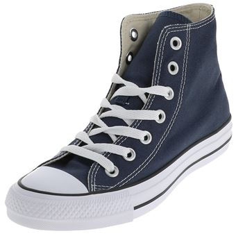 Chaussures mode ville Usual suspect story jeans Converse mid marine Bleu  taille : 36 réf : 58012