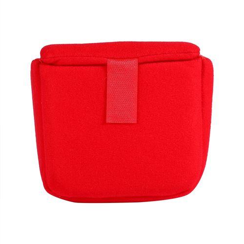 DSLR Insert Camera Case Housse de protection Housse antichoc Accessoire pour caméra de voyage (rouge