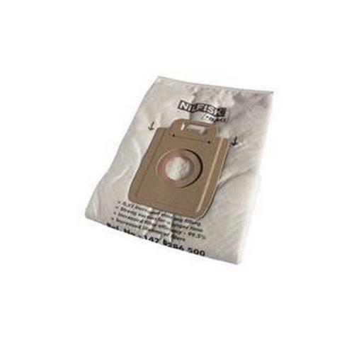 Boite de 4 sacs hygiene + pre filtres EXTREME/KING Aspirateur 1470286500 NILFISK, MOULINEX, PROGRESS - 155716