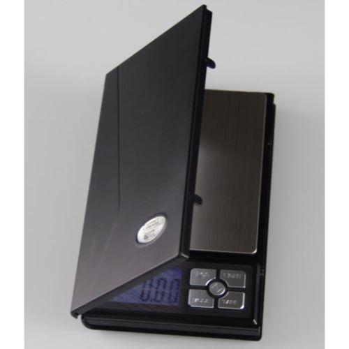 Balance Haute Précision taille XL 0.1g/100mg-max 2kg, numérique électronique Balance de Poche Écran LCD, Petite Balance de Bijoux