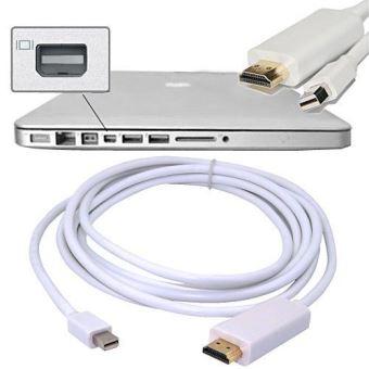 Câble Mini Displayport Vers Hdmi Adaptateur Véidéo Hdtv Pour Macbook Imac Air Pro Câbles Vidéo Achat Prix Fnac